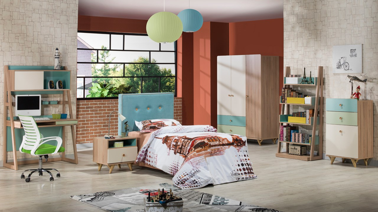 FLORA Young and kids bedroom