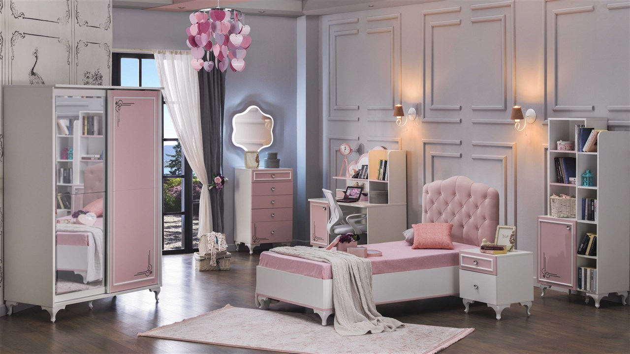 LADY Young and kids bedroom